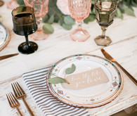 pretty, classic wedding tables