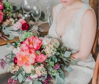 peony-inspired wedding inspiration
