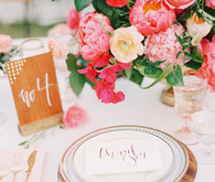 pink floral wedding ideas