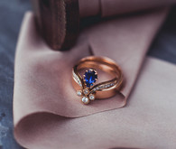 Trumpet and Horn engagement ring