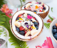 smoothie bowl bar