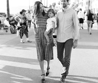 Venice Beach family photos by Lacie Hansen