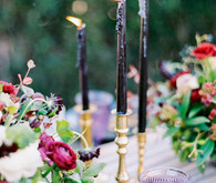 elegant fall wedding table
