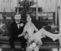 Great Gatsby inspired wedding portraits