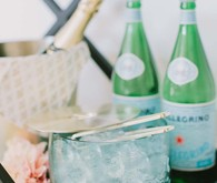 Crate and Barrel ice bucket