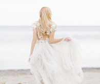 Ethereal wedding dress