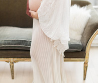 romantic formal maternity photos