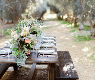 Olive grove wedding inspiration