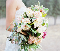 late summer bridal bouquet