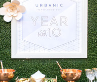 Urbanic Paper Boutique 10 year anniversary