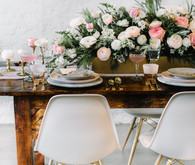 indie pink wedding inspiration