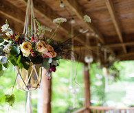 hanging flower planter decor