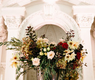 Fall floral arrangment