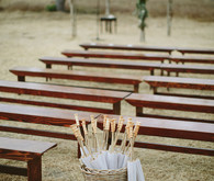 Rustic wedding in Ojai