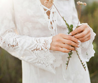 Bohemian bridal fashion inspiration