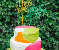 Neon 1st birthday ideas