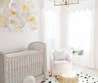 sophisticated swan themed nursery