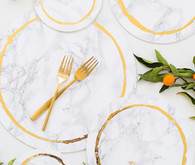 DIY marble wedding ideas