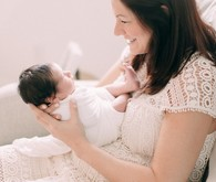 natural light newborn photos