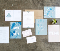 Modern wedding invitaitons