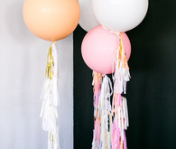 Balloon wedding decor