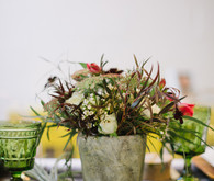 Fall floral baby shower