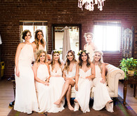 Bohemian wedding at Carondelet House