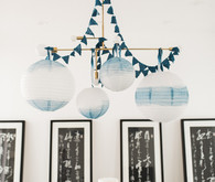 Indigo baby shower ideas
