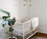 Neutral girl's nursery ideas