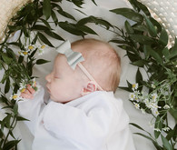 moses basket newborn photos