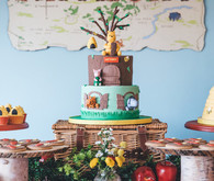 Winnie the Pooh 1st birthday party