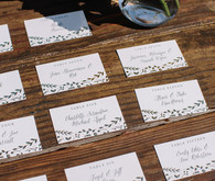 Minted escort cards