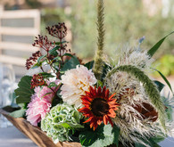 rustic fall floral arrangements