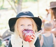 kids apple picking party