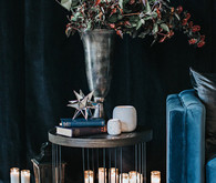Moody blue wedding inspiration