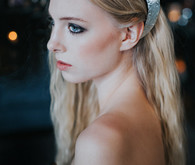 Unique wedding hairstyle