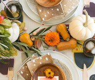 Thanksgiving kids table inspiration