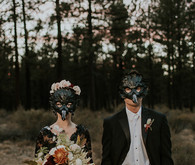 Enchanted Halloween wedding inspiration