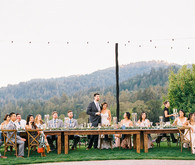Romantic wedding at Camel Hill Vineyards