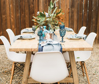 boho backyard baby shower