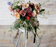 Modern bridal bouquet