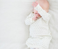 neutral natural light newborn photos