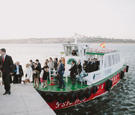 Seaside nautical wedding in Spain