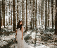 Forest wedding in Portland