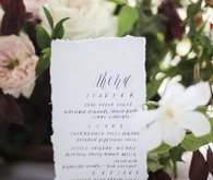 Modern white wedding ideas
