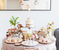 Winter fox baby shower