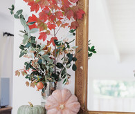 Autumn mantel ideas