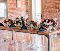 Ghost chairs wedding ideas