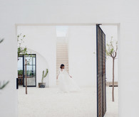 Alexandra Grecco bridal collection at Masseria Moroseta