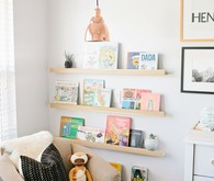 wild and free boy nursery